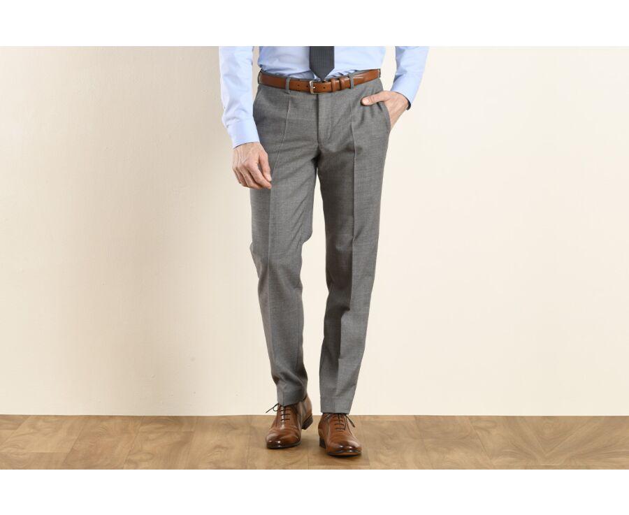 Lazare Trousers Light Grey
