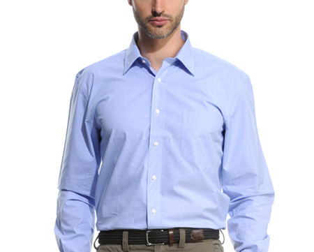 size comfort shirt for man
